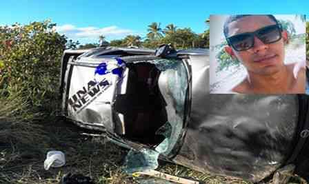Acidente grave com vítima fatal na Rodovia Una/Ilhéus