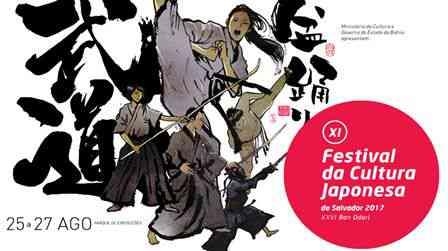 Vem aí o XI Festival da Cultura Japonesa de Salvador 2017