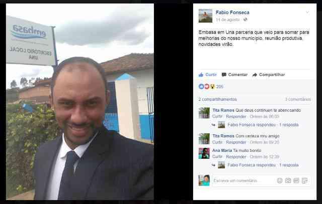 Una: Embasa desconhece que obras no Bairro Marcel Ganem tenham Emenda Parlamentar