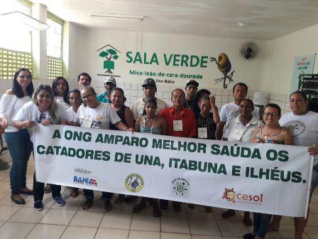 """Una: """"ONG Amparo Melhor"""" realiza o segundo encontro com catadores de Materiais Recicláveis"""