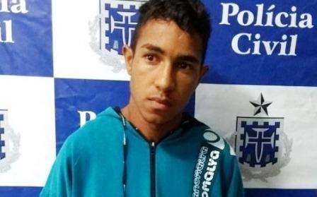 Itapetinga: Jovem é preso suspeito de matar o pai por causa de discussão por paternidade