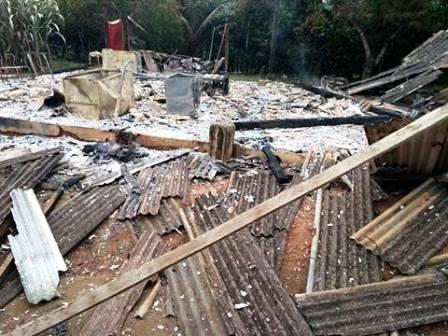 Una: Homem é preso pela PM após incendiar casa em Fazenda na Vila Brasil