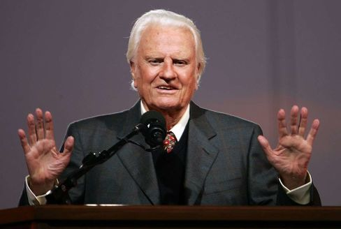 EUA: Morre aos 99 anos Billy Graham, o popular pastor evangelista