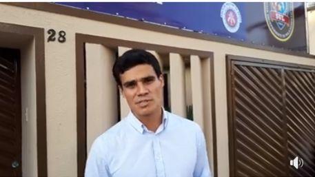 Una: Em vídeo no Facebook, Prefeito Tiago agradece a todos pela presença na inauguração da Base Avançada Rondesp/Cipe