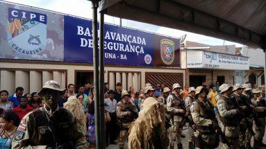 Segurança Pública: Cipe Cacaueira e Rondesp Sul ganham base avançada em Una