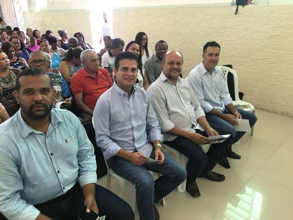 Eduardo Salles participa da Festa de São José em Ibirataia