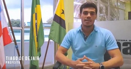 Una: Prefeito Tiago de Dejair tem contas do exercício 2018 aprovadas pelo TCM