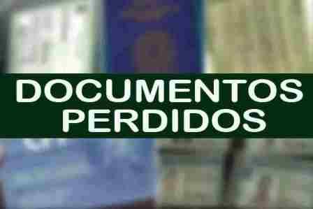 Utilidade pública: Documentos perdidos em Una