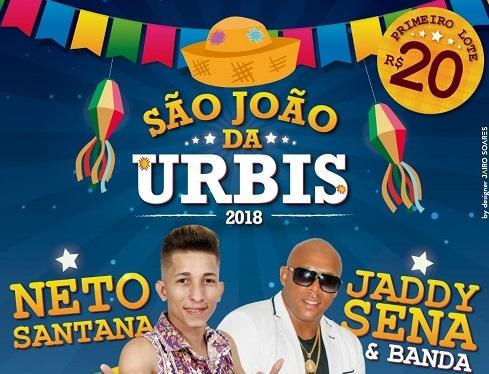Una: São João da Urbis, próximo sábado dia (23)