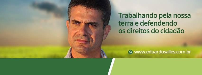 A intransigência de alguns não vai deter nosso trabalho para oferecer empregos à população de Una, diz deputado Eduardo Salles