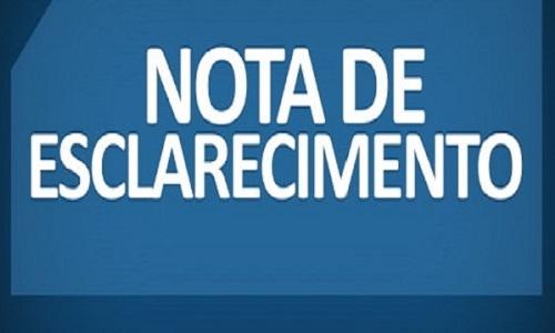 Una: Secretaria de Saúde do município emite Nota de Esclarecimento