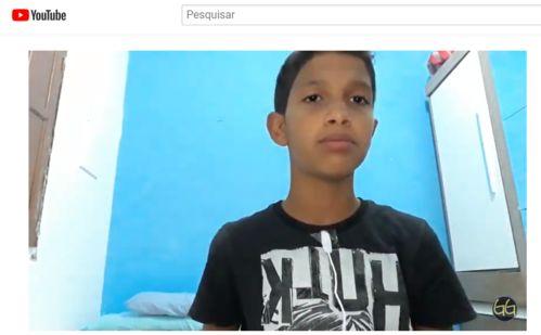 Una: Visite o Canal Youtube do jovem unense Gabriel Guedes