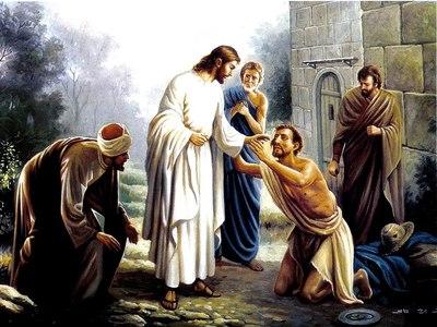A palavra de Deus: Quando Jesus está na casa curas acontecem