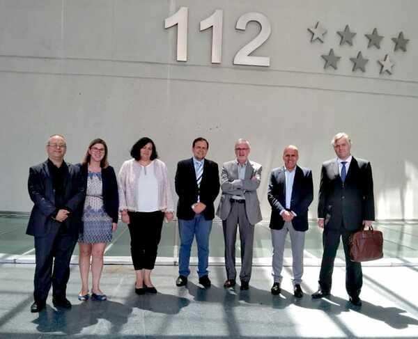 Missão da Bahia visita o Centro de Emergências 112 e se reúne com empresas em Madrid