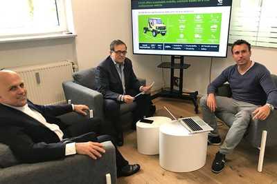 Empresas alemãs devem produzir caminhão elétrico e goma inovadora na Bahia