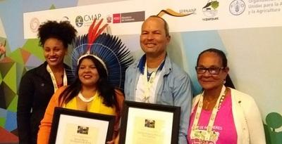 Extrativistas e indígena receberam Prêmios Internacional Pela Conservação da Natureza