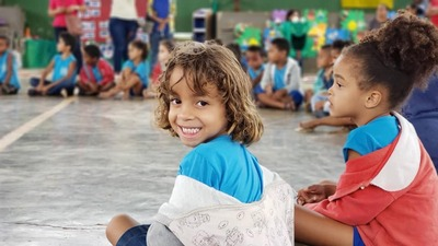 """Una: Prefeitura realiza """"Dia do Brincar"""" para todos os alunos da Educação Infantil Municipal"""