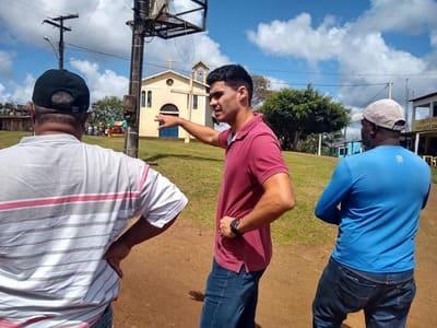 """Una: """"Projeto de urbanização em Vila Brasil inicia dia 29"""", diz prefeito"""