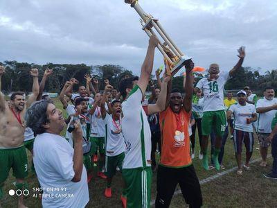 Una: Bola Cheia é a equipe campeã do campeonato municipal de futebol amador