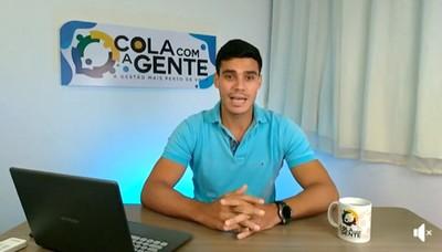 """Una: Assista à integra da live programa """"COLA com A GENTE"""" desta terça (14/01) com Tiago de Dejair"""