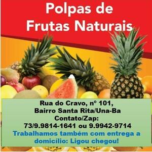 Una: Polpas de frutas naturais, entrega a domicílio