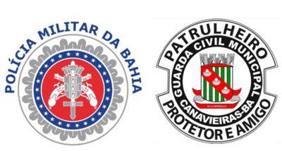 Canavieiras: Após ação conjunta entre PM e GCM ladrão que furtou escola é preso