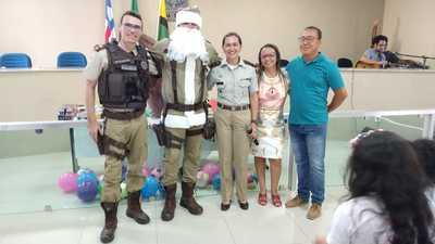 71ª CIPM: Polícia Militar realiza Natal Solidário em Una