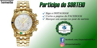 Una: Importados EFRJr estará sorteando um lindo relógio; Participe!