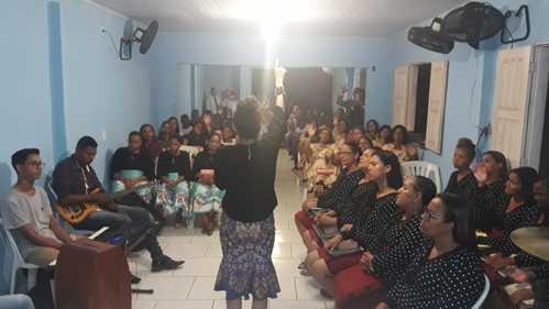 Una: Igreja Assembleia de Deus Paz e Luz realiza 3° aniversário do grupo de senhoras