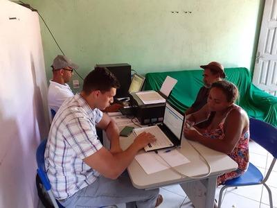 Una: Assentamento Sossego em parceria com a Bahiater realiza mutirão de DAPs