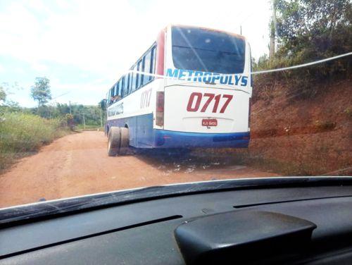 Transporte precário em Una: Roda de ônibus da Metropolys se solta pela segunda vez