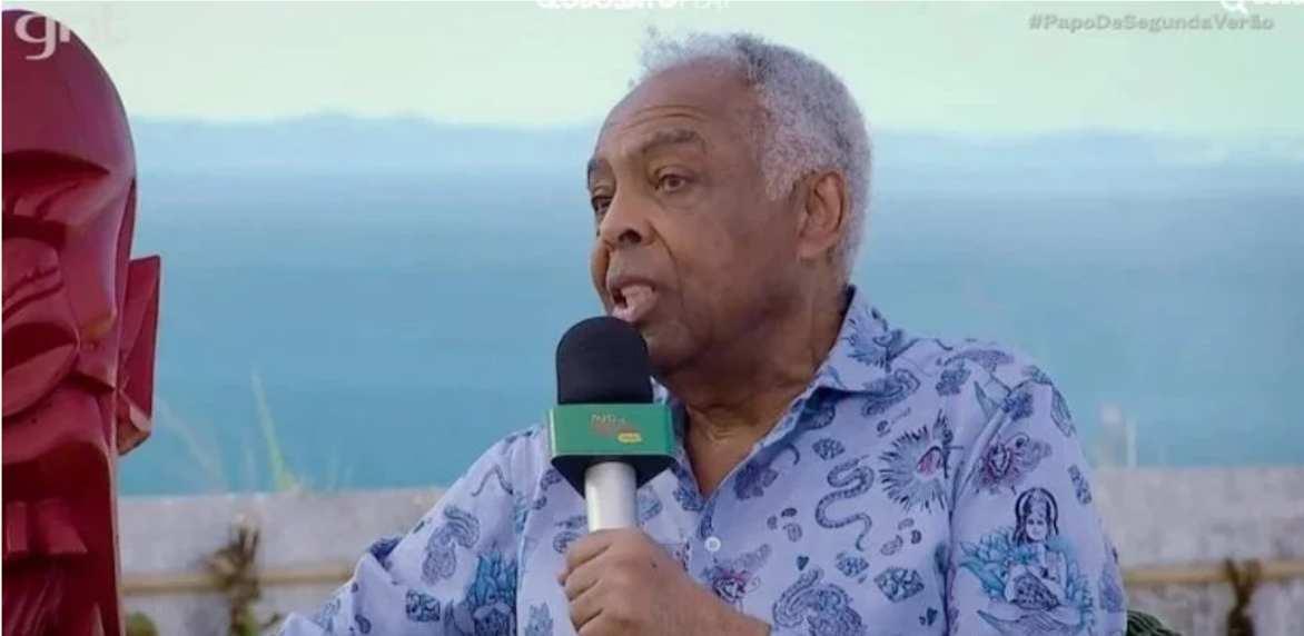 """Vídeo: """"Deus é uma invenção do homem"""", declara o cantor baiano Gilberto Gil"""