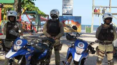 71ªCIPM Canavieiras/Una: Reativação do Motopatrulhamento