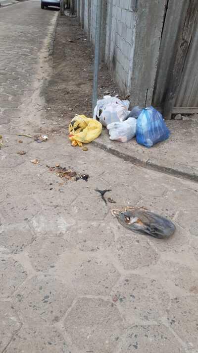 Denúncia: Em Una, alguns moradores continuam desrespeitando o horário de coleta lixo