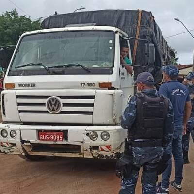 Covid-19: 560 veículos já foram abordados pelos bloqueios da Guarda Municipal de Una