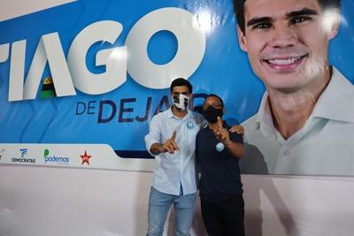 Política em Una: Convenção escolhe Tiago de Dejair e Mann candidatos a prefeito e vice