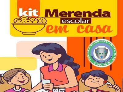 Una: Prefeitura inicia amanhã a distribuição do kit merenda aos alunos da Escola Santa Rita na Urbis