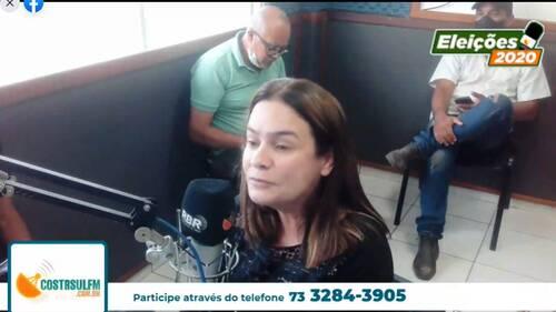 Rádio Costa Sul FM: Vídeo- Confira a entrevista com a candidata a Prefeita de Una, Dra Joanira