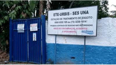 Una: Moradores da Urbis denunciam Embasa pelo abandono da Estação de Tratamento de Esgoto