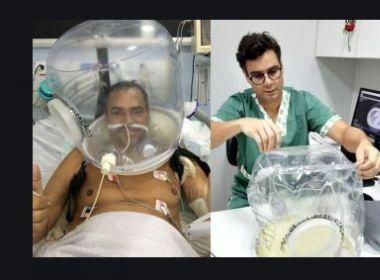 Covid-19: Capacetes evitam intubação em UTI da Santa Casa em Itabuna