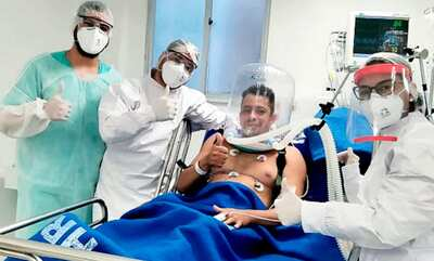 Covid-19: Sesab distribui capacetes para ventilação não invasiva para hospitais
