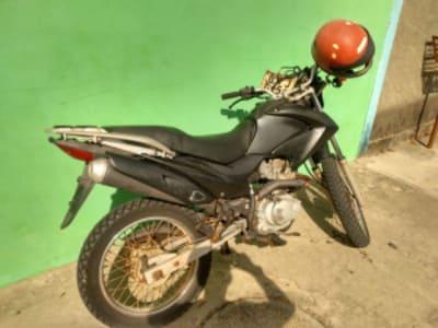 Canavieiras: Ação conjunta policial recupera moto da GCM furtada