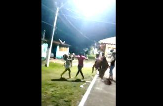 Vídeo: Festa das crianças termina em pancadaria na comunidade de Outeiro em Una
