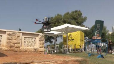 Mundo: Vídeo-Israel testa entrega de sorvete e sushi por drones